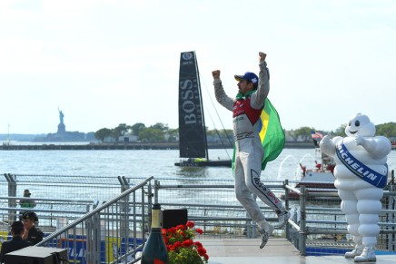 di Grassi wins the New York ePrix Race 1 in Brooklyn