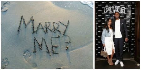 Marry Me - Stock Photo; Molly Qerim and Jalen Rose (Getty Images)