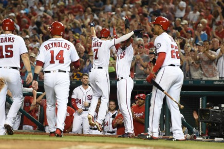 Turner's career game ends Nats skid