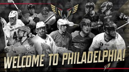 Welcome to Philadelphia picture (Photo by the Philadelphia Wings)