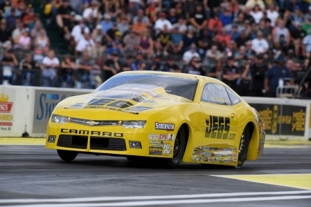 Pro Stock racer Jeg Coughlin Jr. race in Seattle