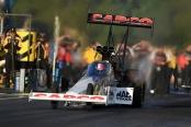 Capco Contractors Top Fuel dragster Steve Torrence racing in Kent, Washington