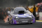Infinite Hero Foundation Funny Car pilot Jack Beckman wins at Brainerd, Minnesota for the first-time