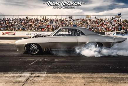 The Megalodon won the Street Outlaws Bristol in2018
