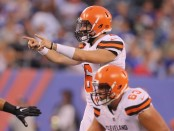 Cleveland Browns quarterback Baker Mayfield sees action in the first preseason game