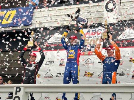 Alexander Rossi wins the ABC Supply 500 at Pocono Raceway