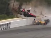 Robert Wickens was injured during the ABC Supply 500 at Pocono Raceway