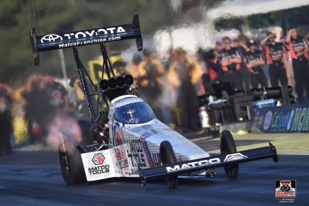 Brown ends drought, captures 50th Nitro win