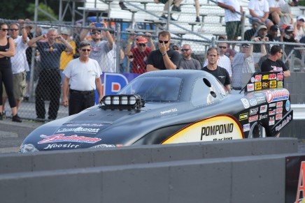 Pomponio advances to the second round at AtcoDragway