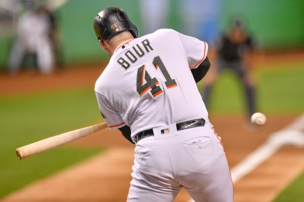 Phillies acquire Marlins' Justin Bour