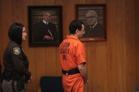 Former USA Gymnastics doctor Larry Nassar is seen after being sentenced to 40 to 175 years