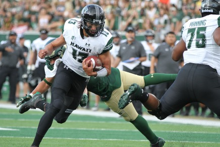 McDonald has a big game as Hawai'i beats Colorado State