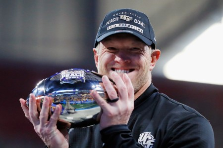 Scott Frost wins his final game as the UCF Knights head coach in the Peach Bowl