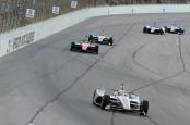 Verizon IndyCar driver Will Power racing at Texas Motor Speedway