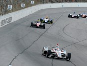 Verizon IndyCar driver Will Power racing at Texas Motor Speedway