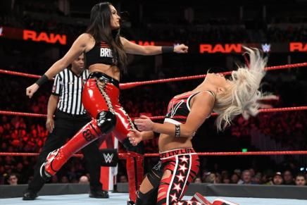WWE's Liv Morgan knocked out on Raw