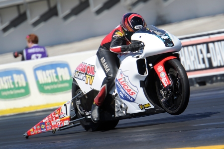 Pro Stock Motorcycle racer Hector Arana Jr. gets second win this season