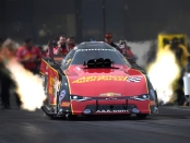 Advance Auto Parts Funny Car pilot Courtney Force from earlier this season