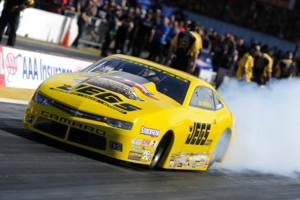 Coughlin Jr. to lead Pro Stock into St. Louiseliminations