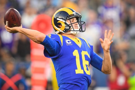 Goff leads Rams past Vikings on Thursday Night in Los Angeles