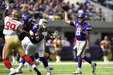 Vikings give Cousins win in his debut withteam