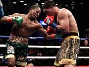 Boxer Shawn Porter punches Danny Garcia in New York
