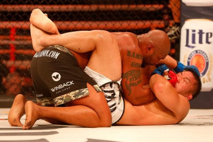 Jackson stops Silva in second-round in fourthmeeting