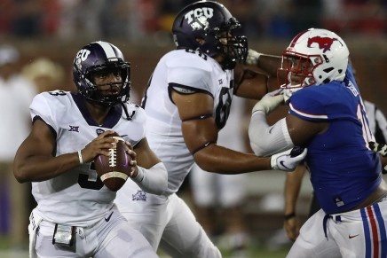 SMU disappears after first quarter, as No. 16 TCU rolls