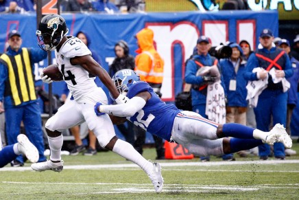 Jaguars give Shurmur first loss as Giants coach