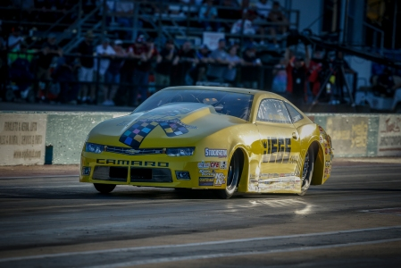 JEGS.com/Elite Performance Pro Stock driver Jeg Coughlin Jr. racing on Friday at the AAA Texas NHRA FallNationals
