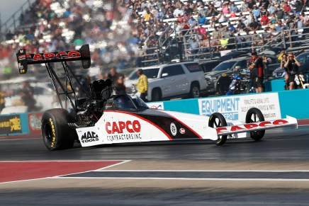Torrence defeats McMillen to win in Top Fuel at home