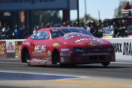 Enders-Stevens uses 6.518 pass to claim provisional lead in NorthCarolina