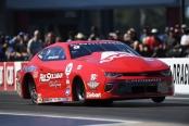 Ray Skillman Auto Group Pro Stock driver Drew Skillman racing on Saturday at the NHRA Carolina Nationals