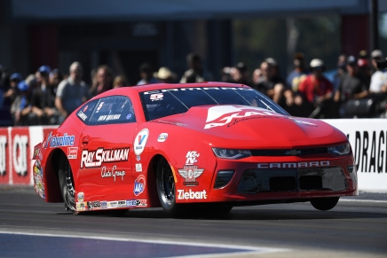 Skillman uses final qualifying pass to claim No. 1 qualifier at zMAX
