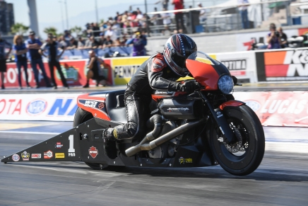 Krawiec leads PSM on Friday at the NHRA Toyota Nationals