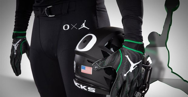 The Oregon Ducks will be wearing the Jordan Brand gear this weekend instead of Nike