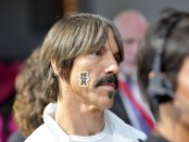 Musician Anthony Kiedis at the New York Fashion Week