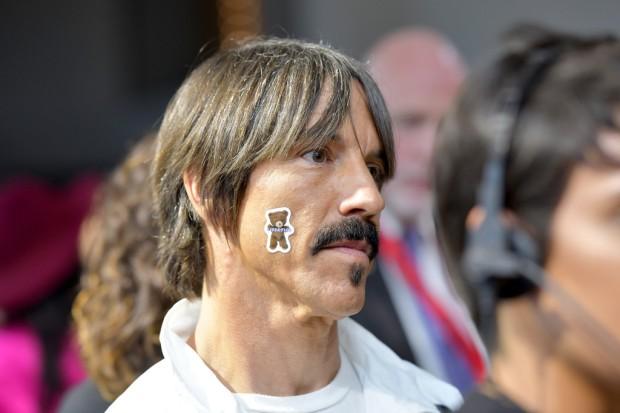 Musician Anthony Kiedis at the New York Fashion Week