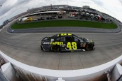 Lowe's for the Pros driver Jimmie Johnson racing at the Gander Outdoors 400 at Dover International Speedway