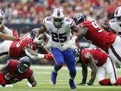 Buffalo Bills running back LeSean McCoy runs the ball against the Houston Texans