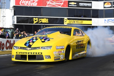 Coughlin Jr. is the No. 1 qualifier at the Auto Club NHRAFinals