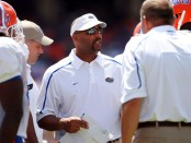 Former Florida Gators defensive coordinator Teryl Austin during the Orange & Blue Spring game
