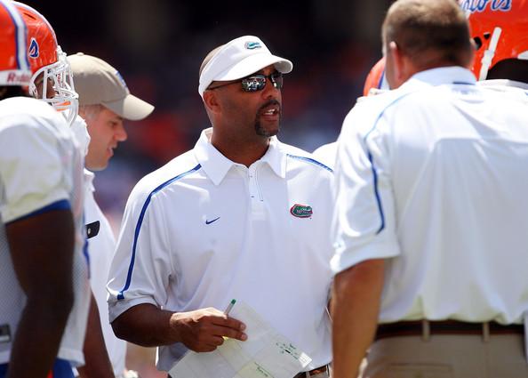 Former Florida Gators defensive coordinator Teryl Austin during the Orange & Blue Spring game