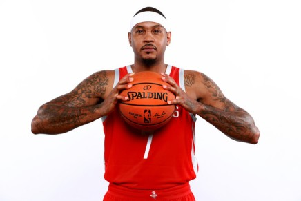 Rockets part ways with disgruntled CarmeloAnthony