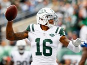 Free agent Terrelle Pryor scoring a touchdown with the New York Jets