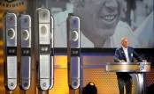 NASCAR pioneer David Pearson talking at the NASCAR Hall of Fame