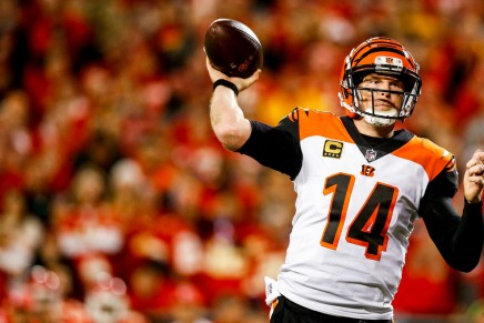 Bengals' Dalton injured vs. Browns
