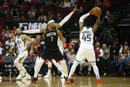 Rockets parting ways with CarmeloAnthony