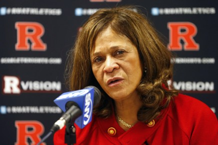 Rutgers' Stringer wins 1,000th game