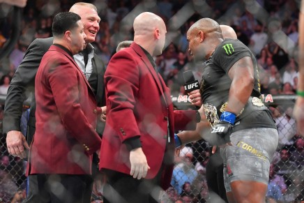 Cormier calls out Lesnar after MSGwin
